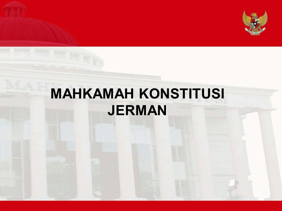 MAHKAMAH KONSTITUSI JERMAN