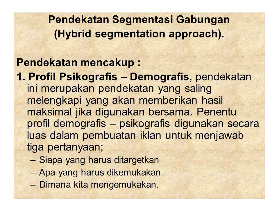 Pendekatan Segmentasi Gabungan