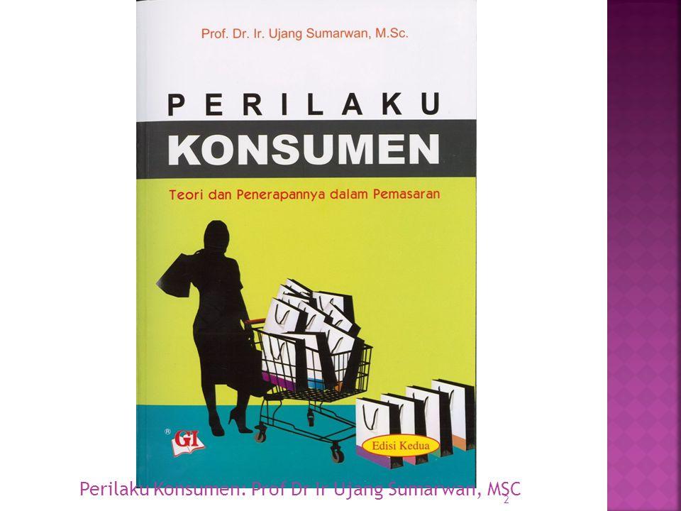 Perilaku Konsumen: Prof Dr Ir Ujang Sumarwan, MSC