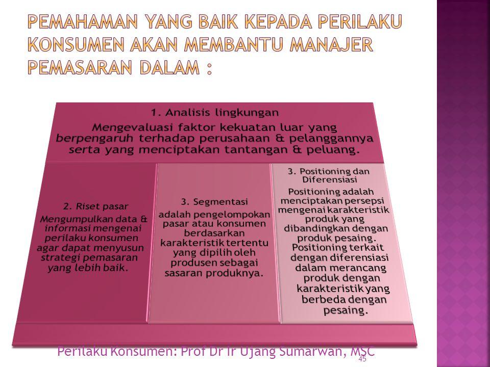 3. Positioning dan Diferensiasi