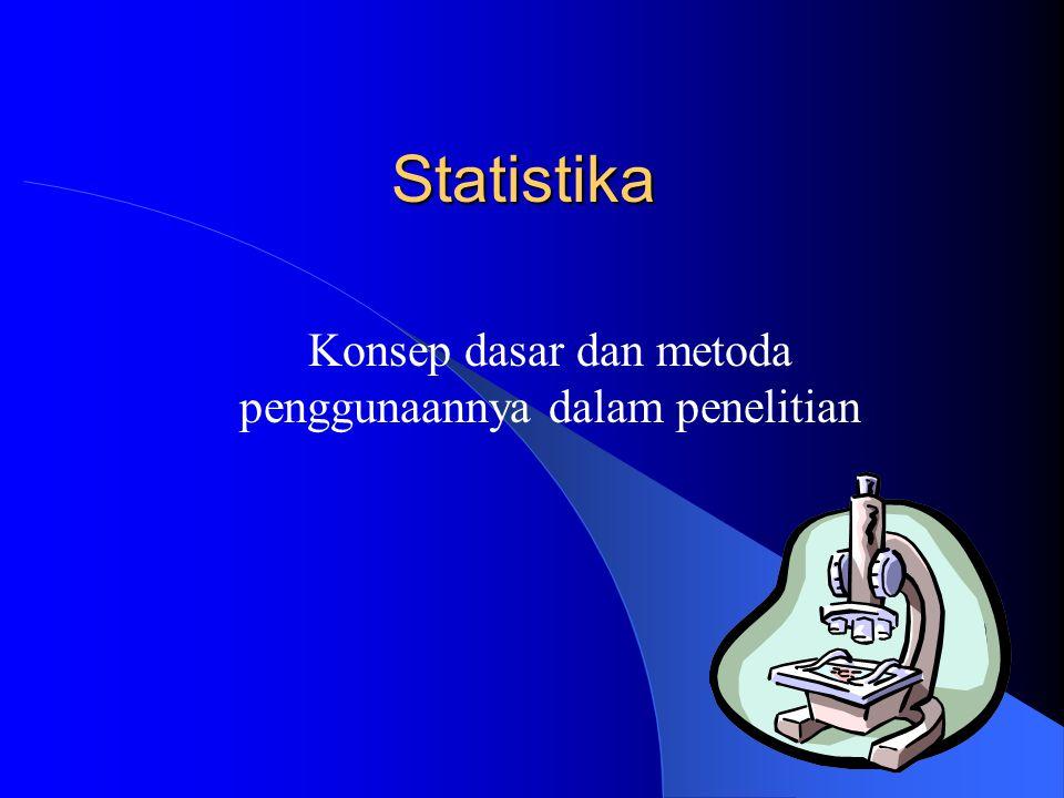 Konsep dasar dan metoda penggunaannya dalam penelitian