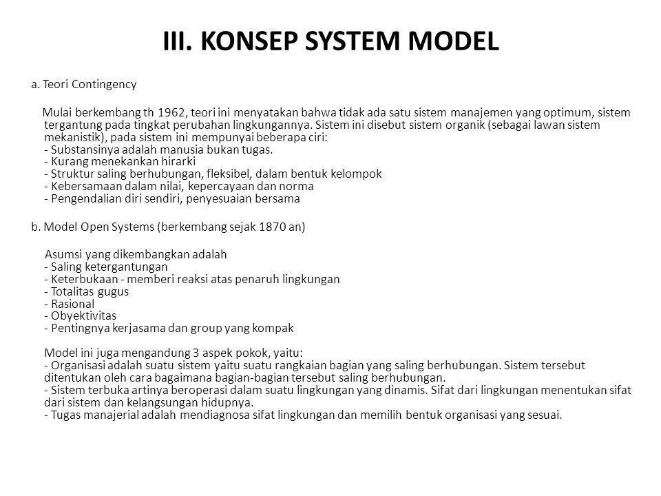 III. KONSEP SYSTEM MODEL