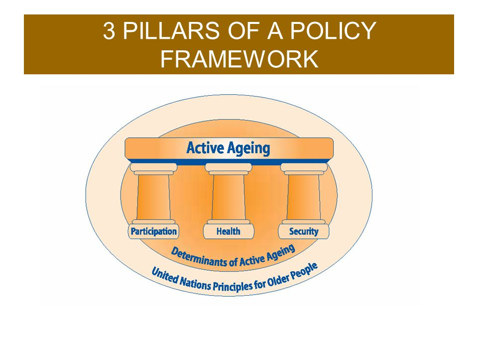 3 PILLARS OF A POLICY FRAMEWORK