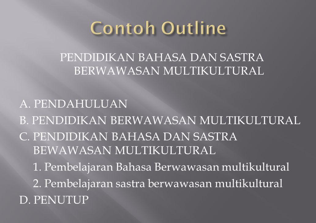 Contoh Outline