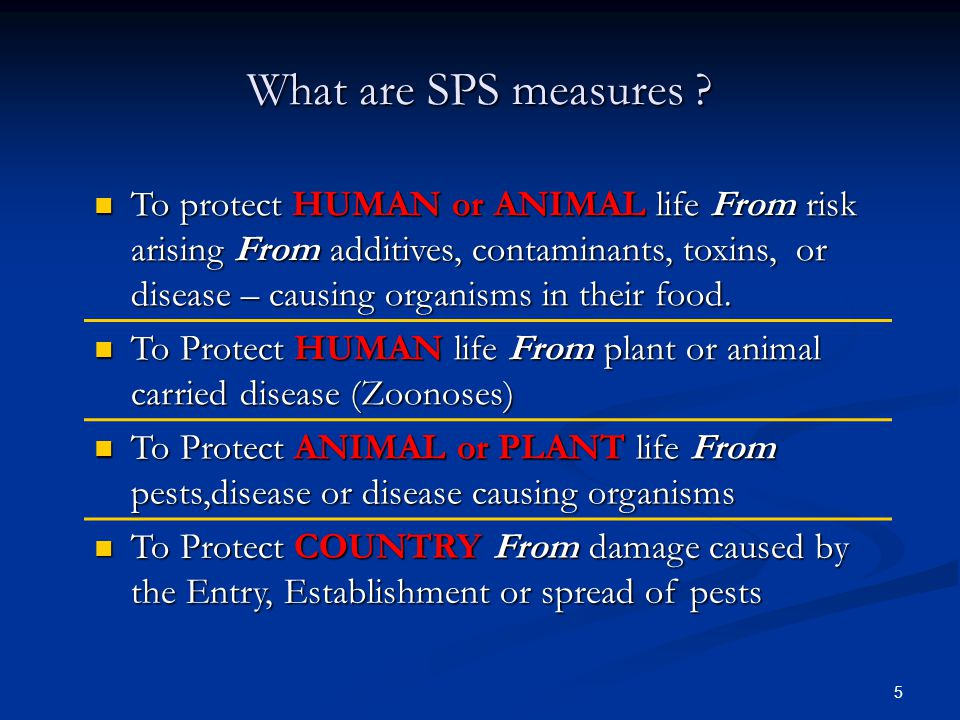 What are SPS measures