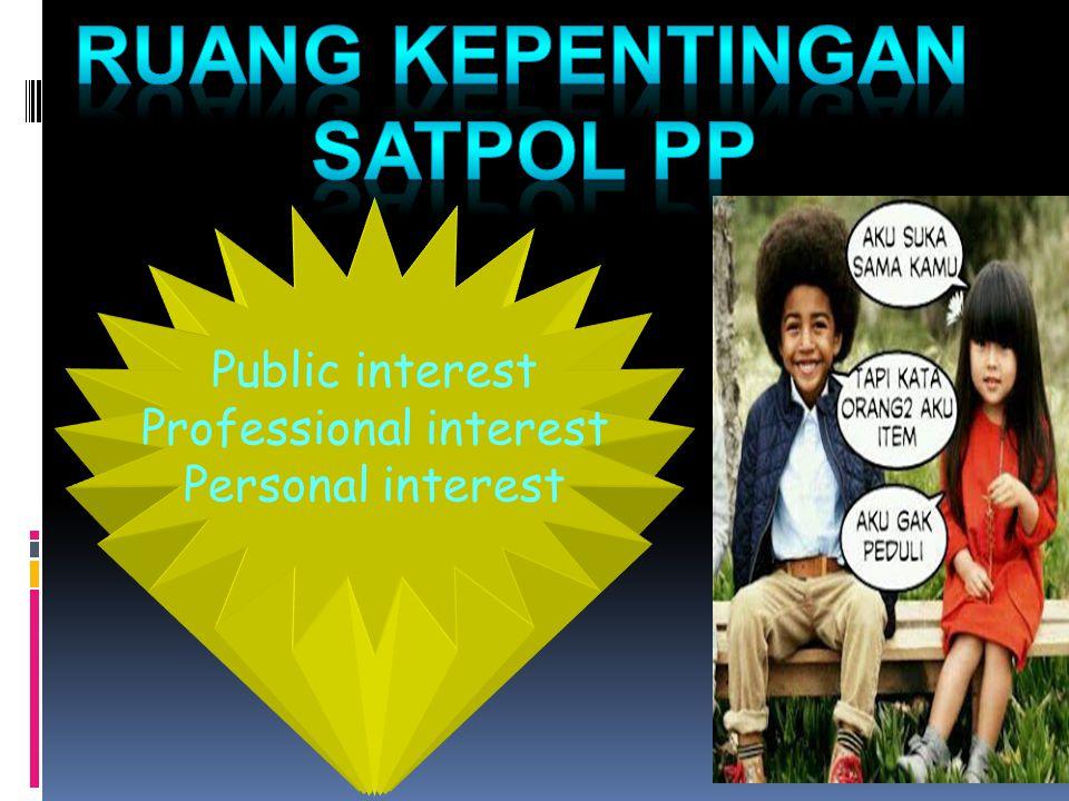 Professional interest