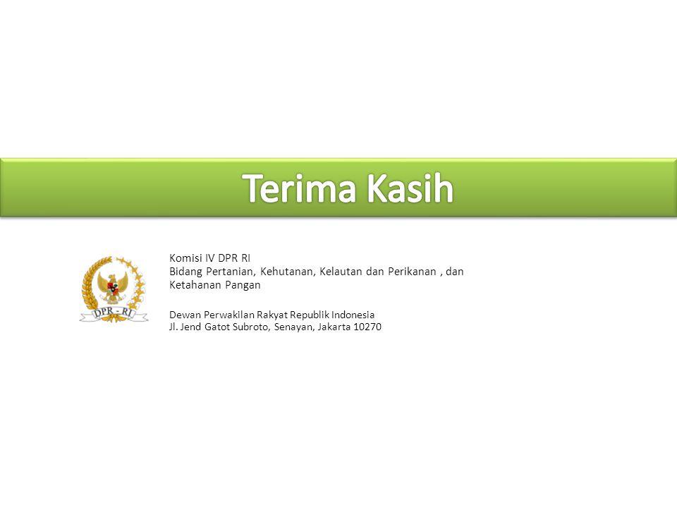 Terima Kasih Komisi IV DPR RI
