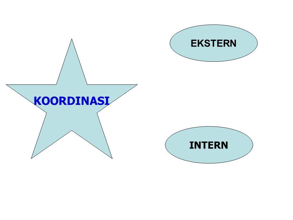 EKSTERN KOORDINASI INTERN