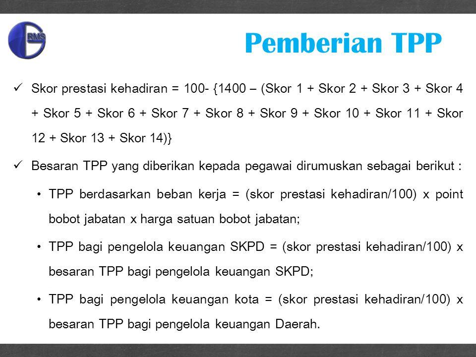 Pemberian TPP