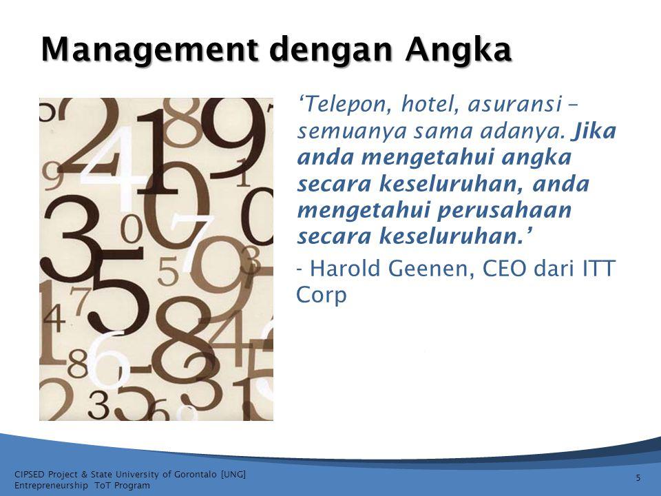 Management dengan Angka