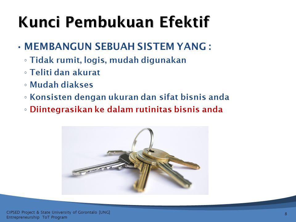 Kunci Pembukuan Efektif