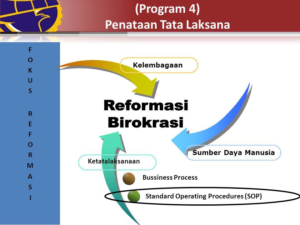 (Program 4) Penataan Tata Laksana