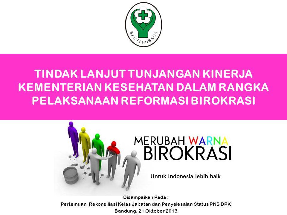 Pertemuan Rekonsiliasi Kelas Jabatan dan Penyelesaian Status PNS DPK