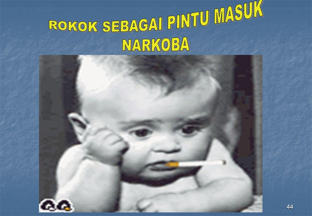 ROKOK SEBAGAI PINTU MASUK