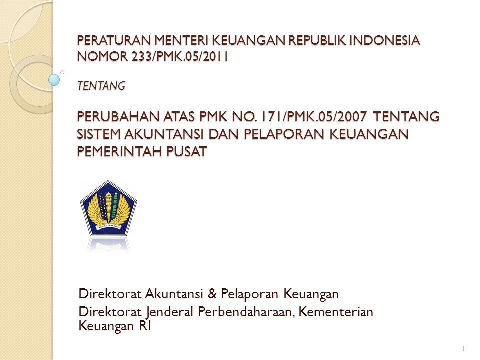Direktorat Akuntansi & Pelaporan Keuangan