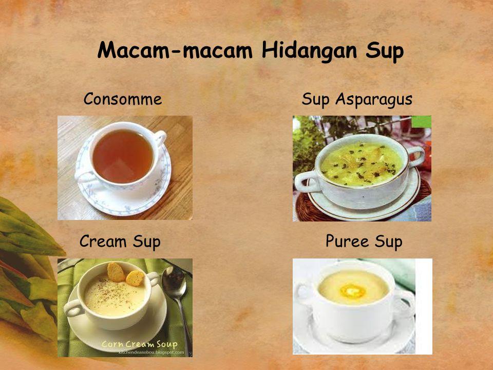 Macam-macam Hidangan Sup