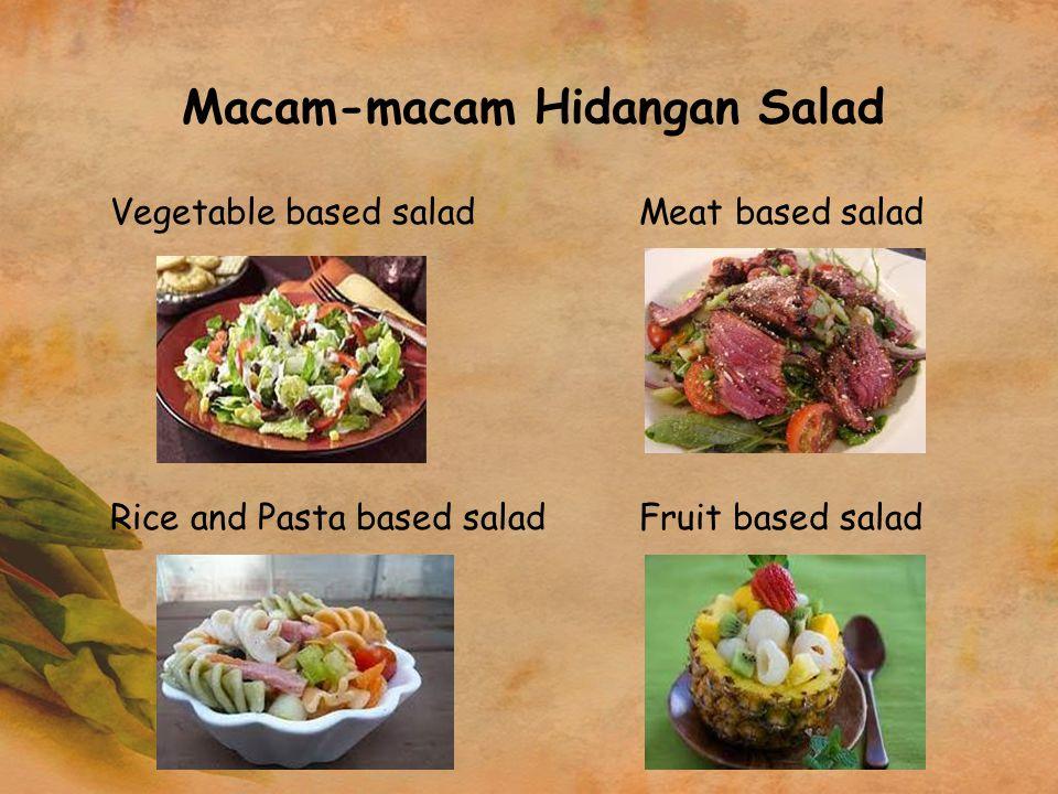 Macam-macam Hidangan Salad