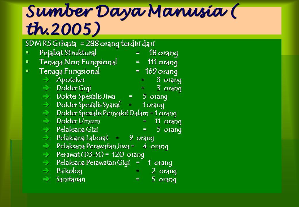 Sumber Daya Manusia ( th.2005)