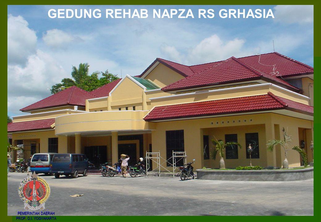 GEDUNG REHAB NAPZA RS GRHASIA