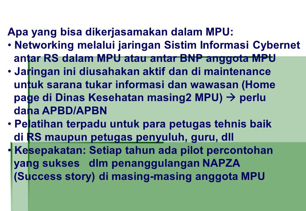 Apa yang bisa dikerjasamakan dalam MPU: