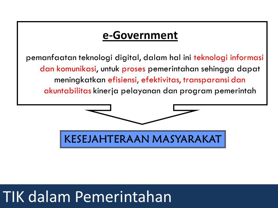 TIK dalam Pemerintahan