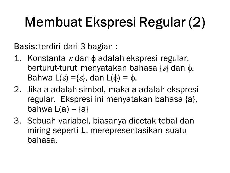 Membuat Ekspresi Regular (2)