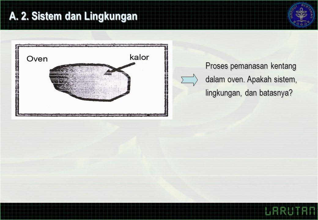 A. 2. Sistem dan Lingkungan