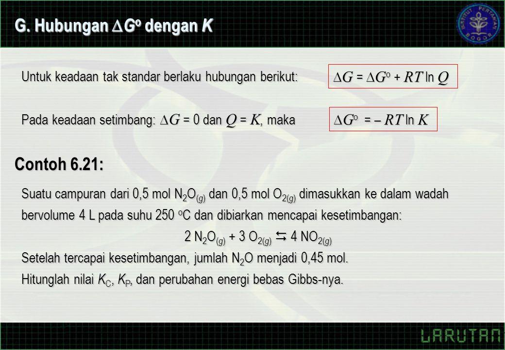 G. Hubungan Go dengan K Contoh 6.21: