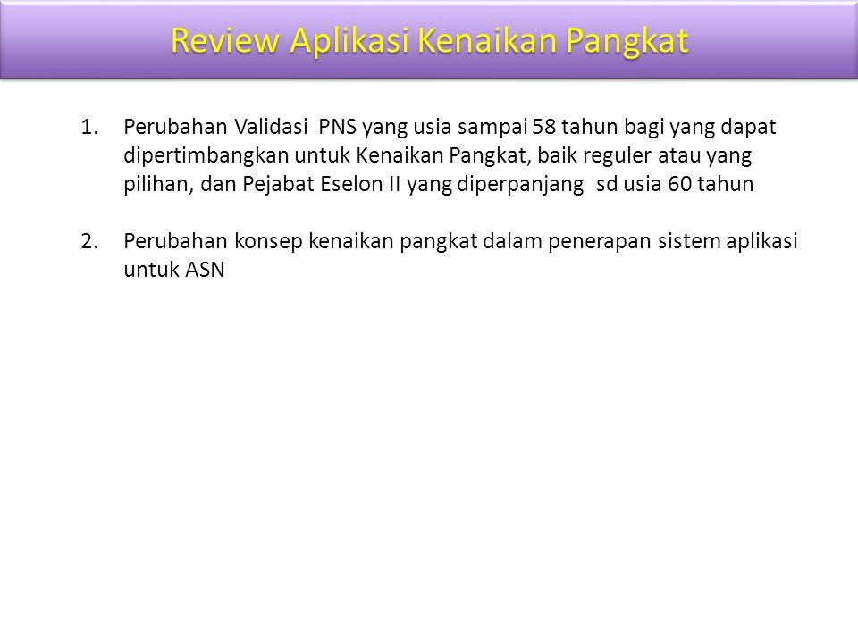 Review Aplikasi Kenaikan Pangkat