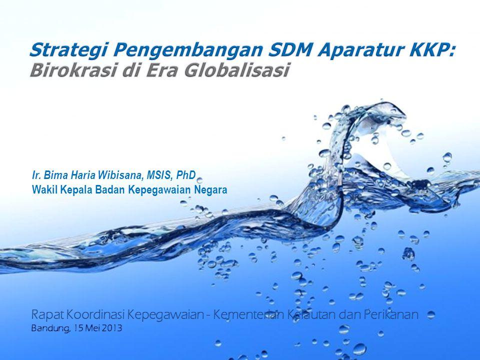 Strategi Pengembangan SDM Aparatur KKP: Birokrasi di Era Globalisasi