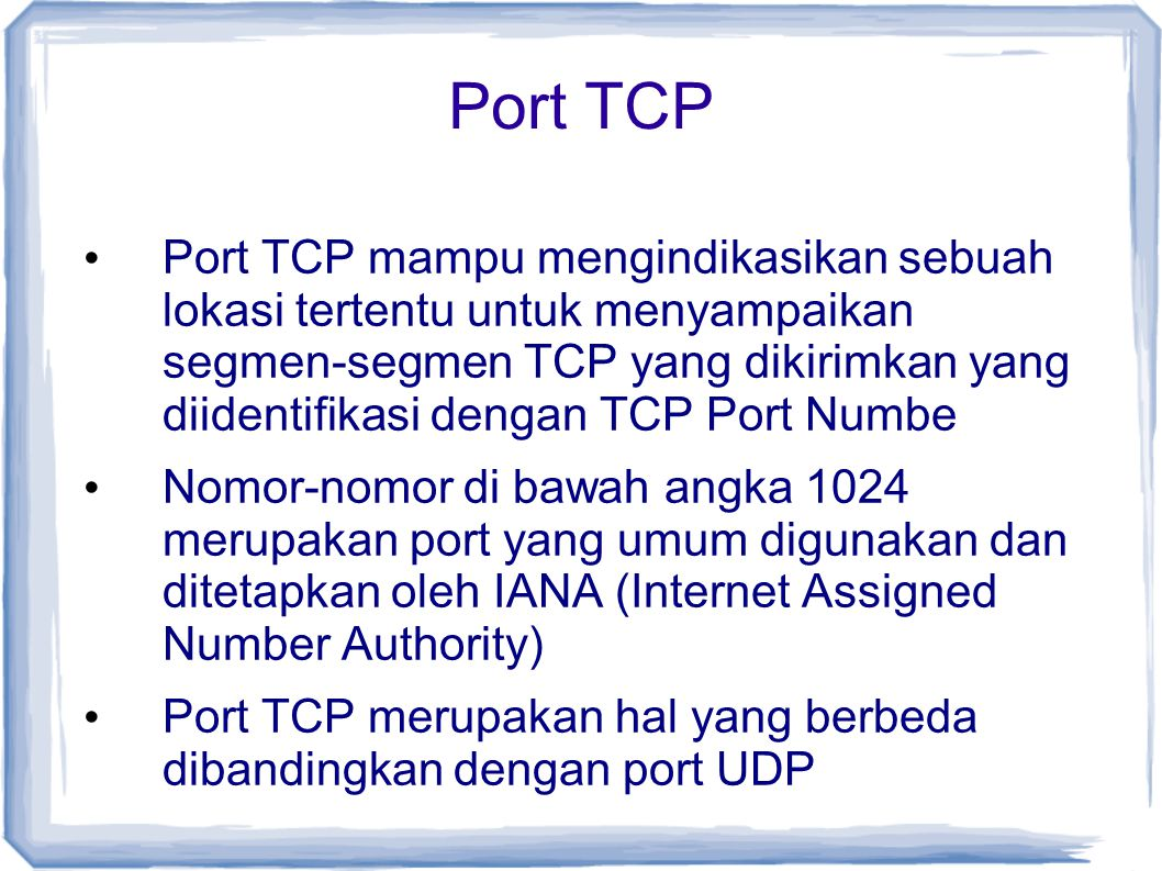 Port TCP