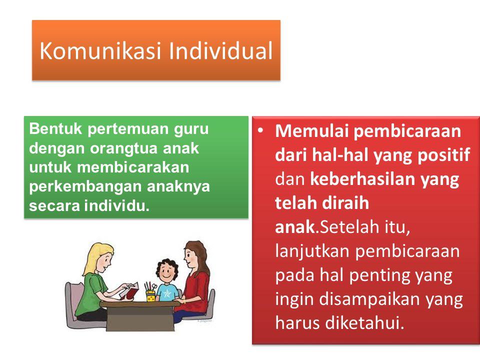 Komunikasi Individual