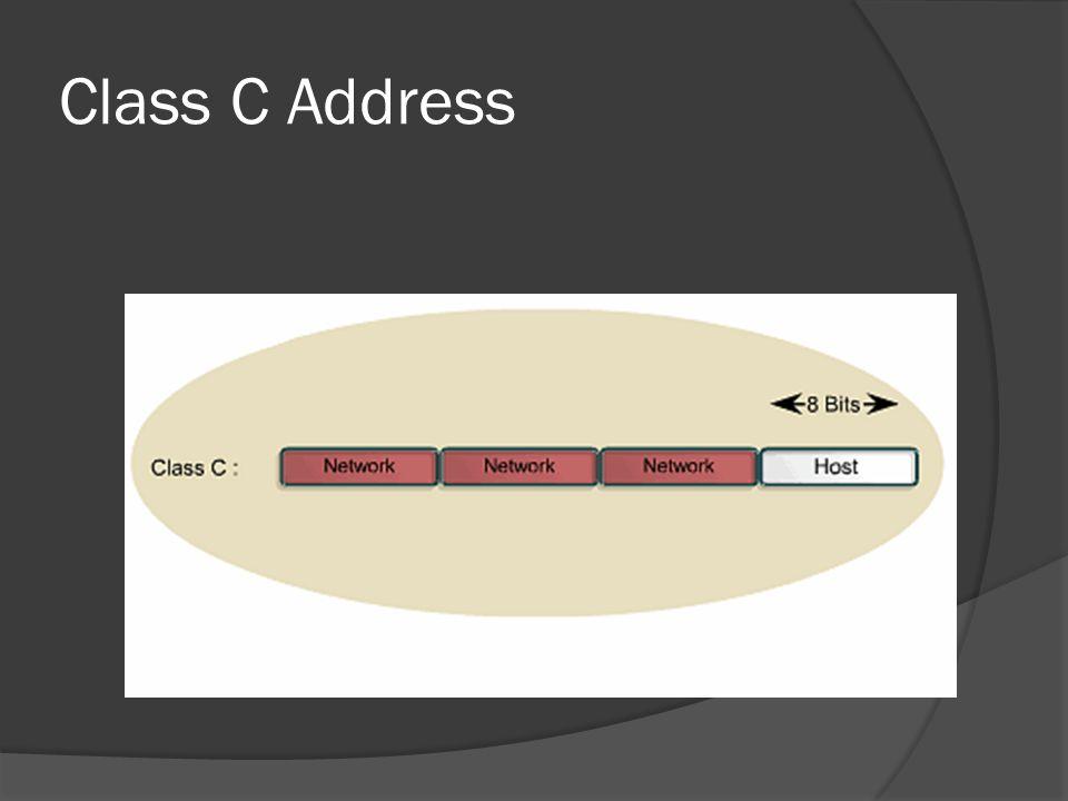 Class C Address