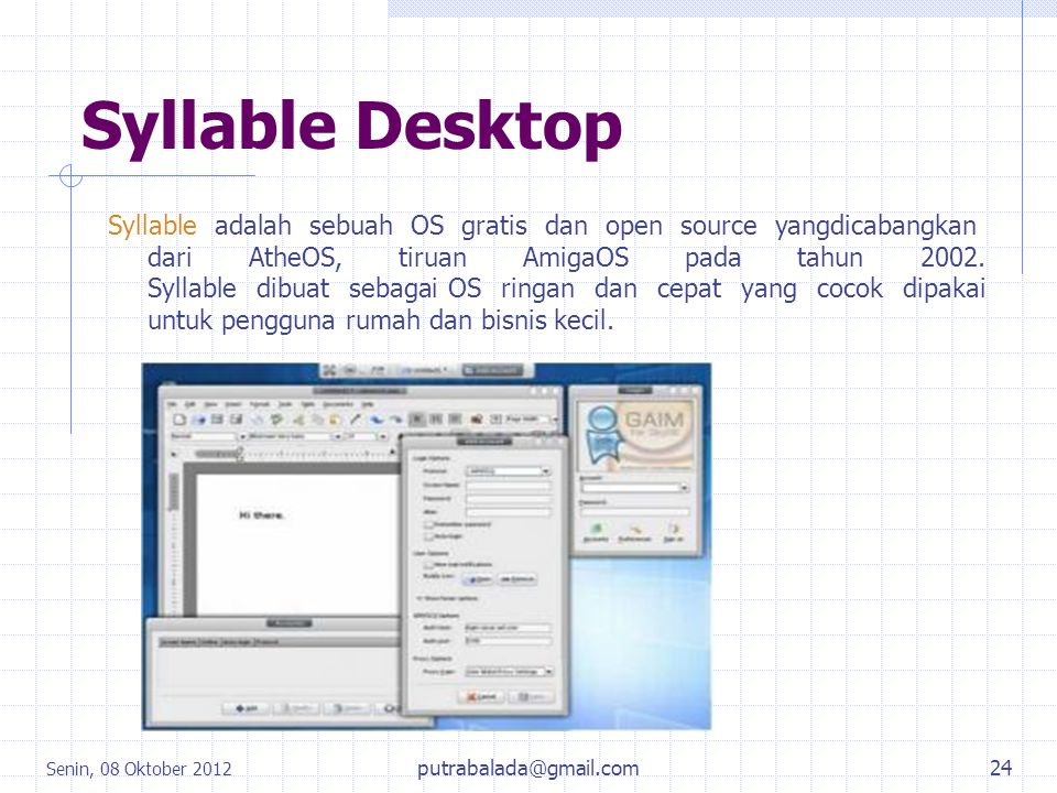 Syllable Desktop