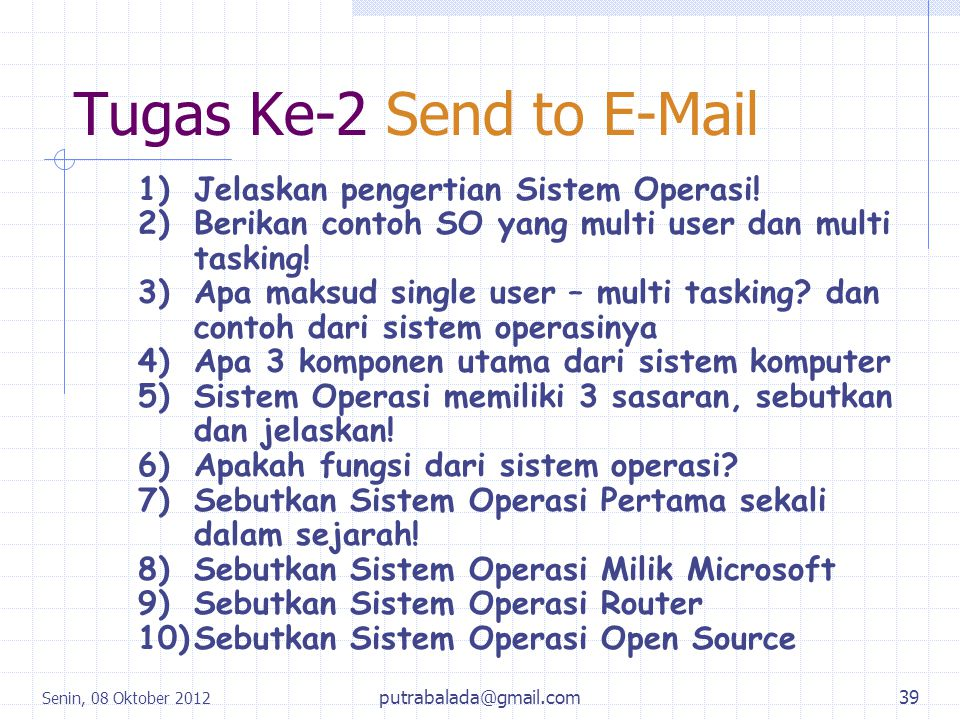 Tugas Ke-2 Send to E-Mail