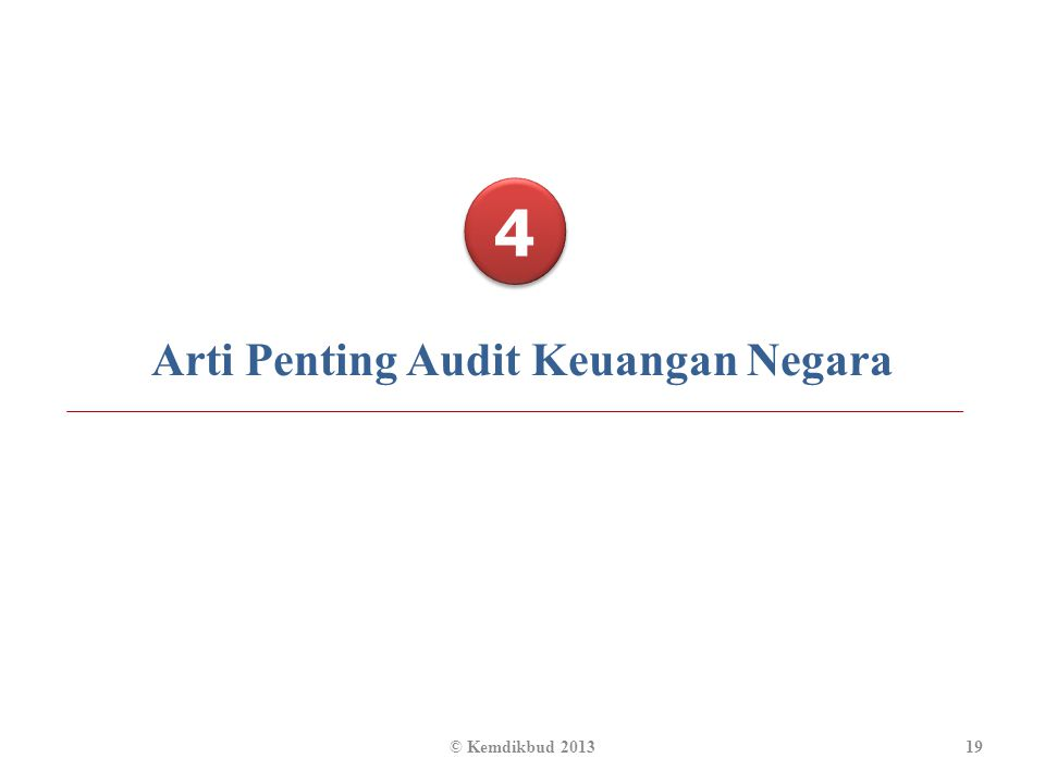 Arti Penting Audit Keuangan Negara