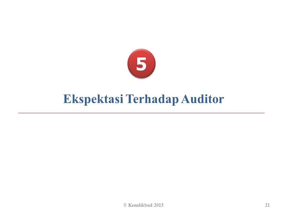 Ekspektasi Terhadap Auditor