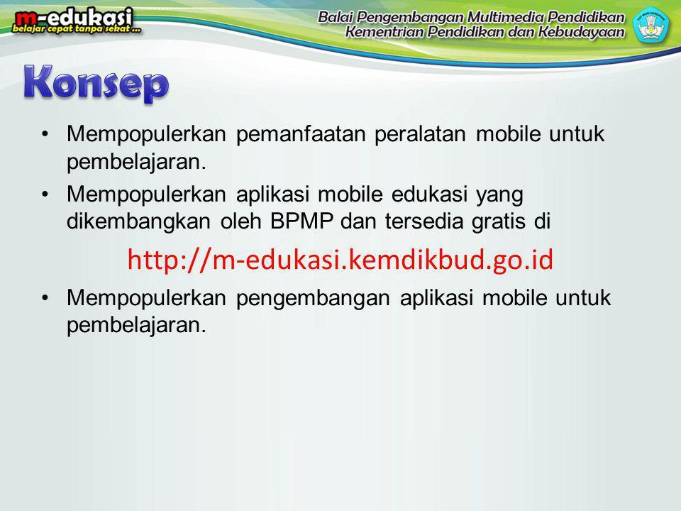 Konsep http://m-edukasi.kemdikbud.go.id