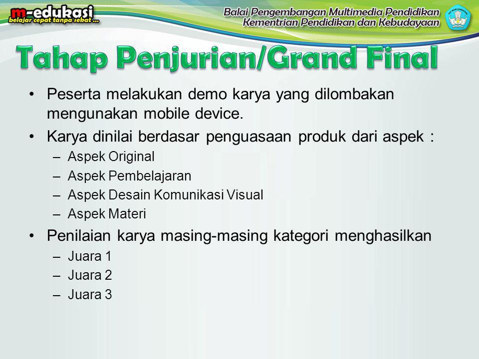Tahap Penjurian/Grand Final
