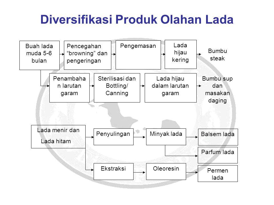 Diversifikasi Produk Olahan Lada