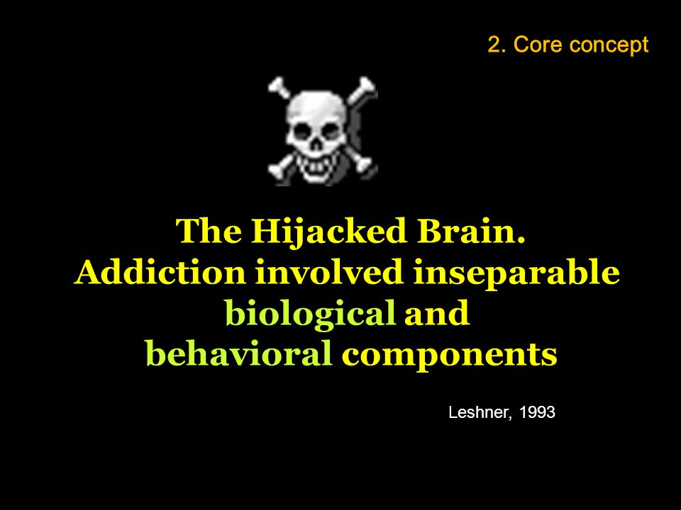 Addiction involved inseparable behavioral components