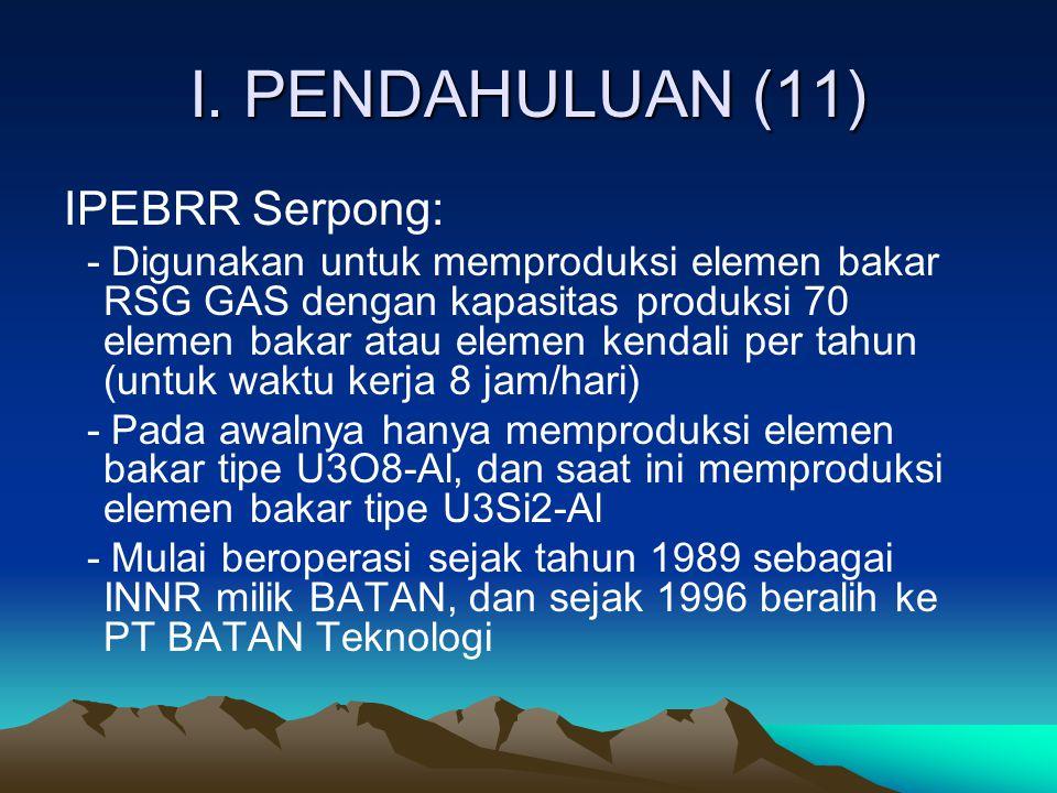 I. PENDAHULUAN (11) IPEBRR Serpong: