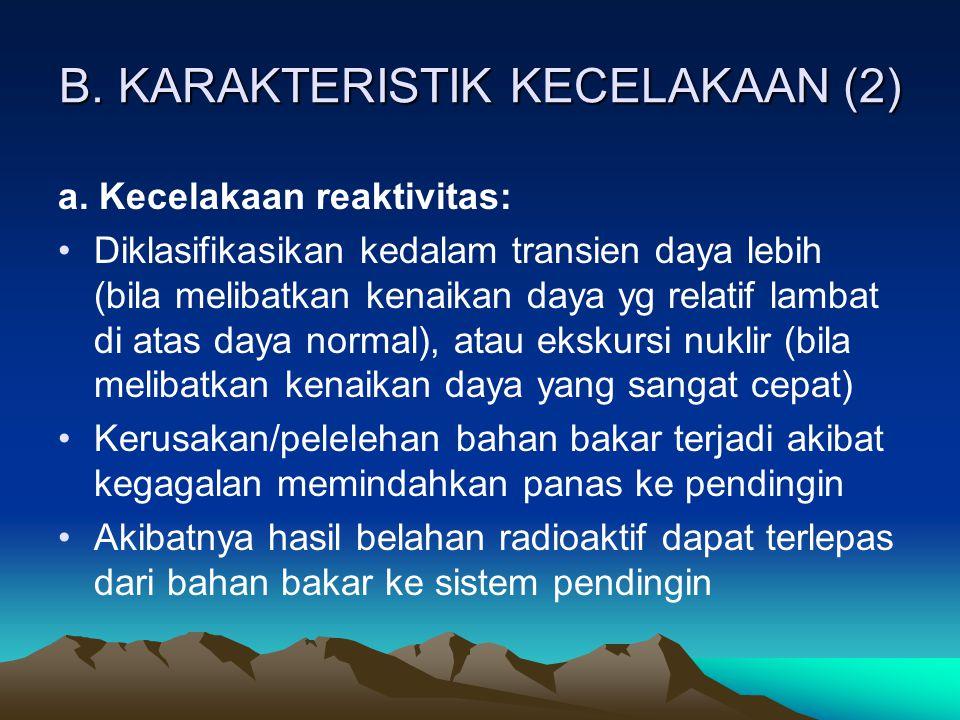 B. KARAKTERISTIK KECELAKAAN (2)