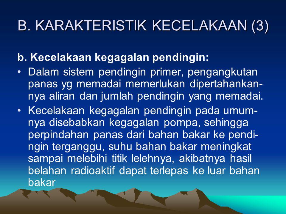 B. KARAKTERISTIK KECELAKAAN (3)