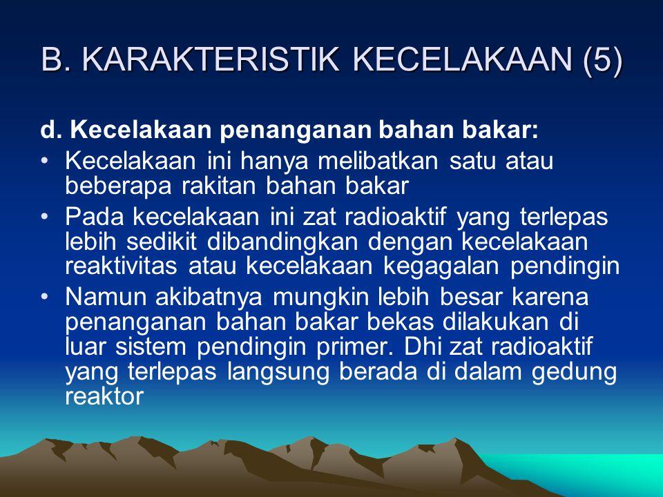 B. KARAKTERISTIK KECELAKAAN (5)