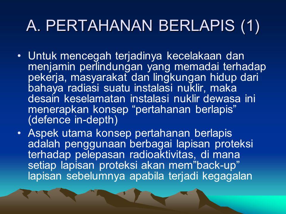 A. PERTAHANAN BERLAPIS (1)