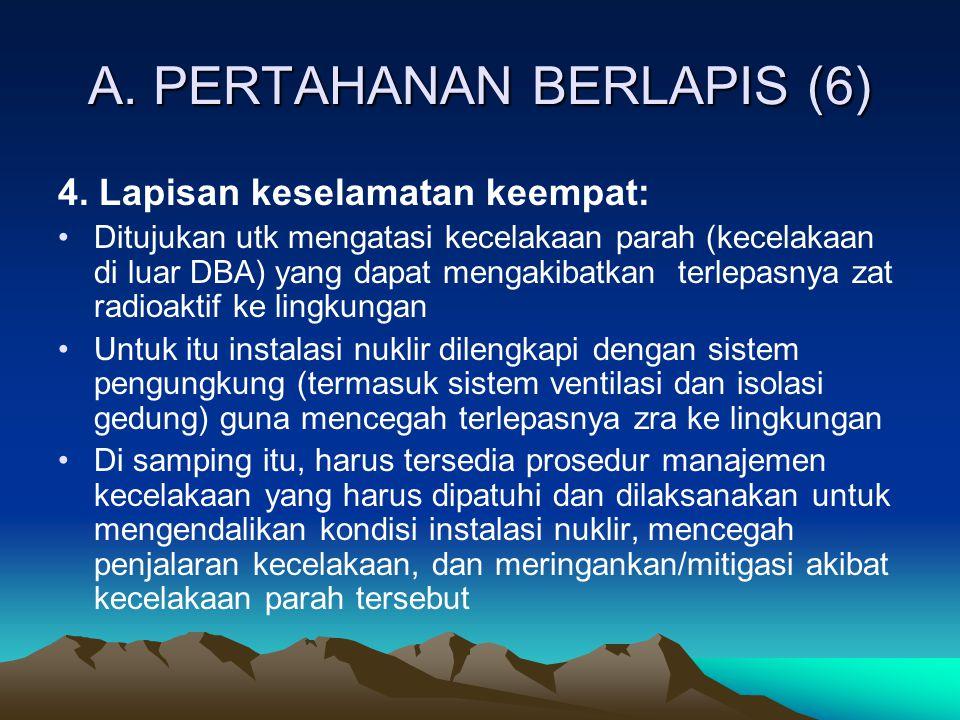 A. PERTAHANAN BERLAPIS (6)