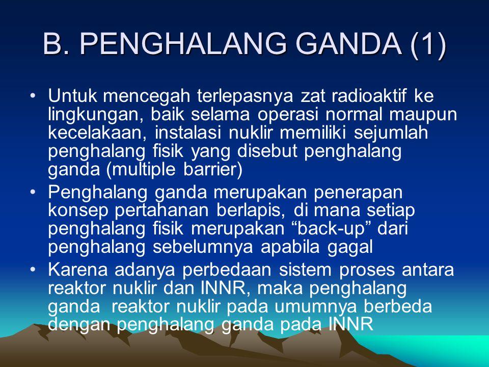 B. PENGHALANG GANDA (1)