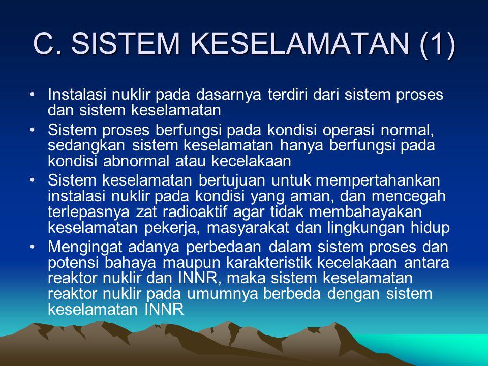 C. SISTEM KESELAMATAN (1)