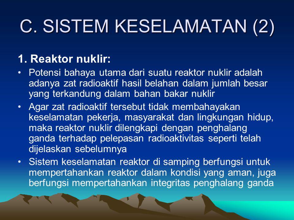 C. SISTEM KESELAMATAN (2)